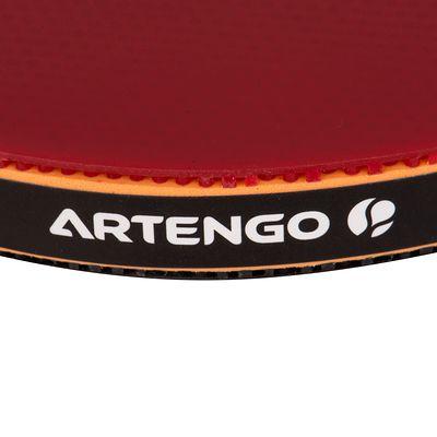 RAQUETTE DE TENNIS DE TABLE ARTENGO FR 950 ROUGE ET NOIR