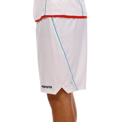 Short football adulte F500 blanc