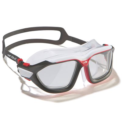 Masque de natation ACTIVE Taille L noir rouge