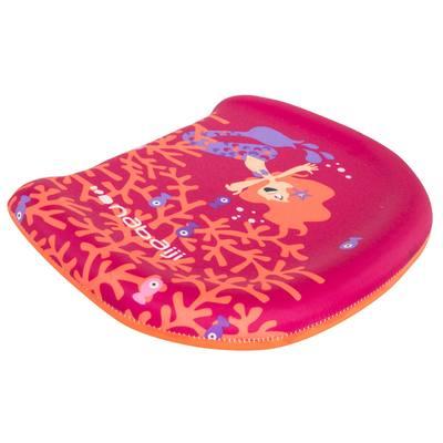 Planche de natation rose à battements enfant avec imprimé