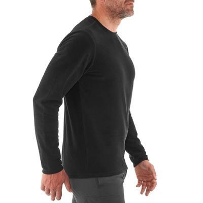 Polaire randonnée homme Forclaz 20 noir