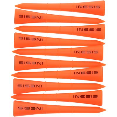 One-Tee 70 MM X10 Orange