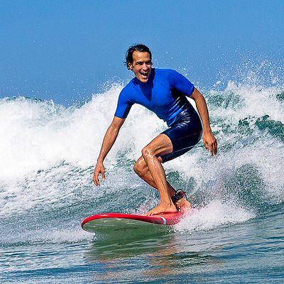 SHORTY Surf 100 Néoprène Homme  Bleu