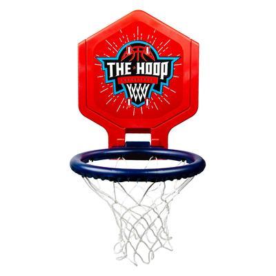 Panier de basket enfant/adulte THE HOOP 500 ballon bleu rouge. Transportable.