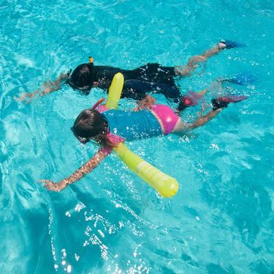 Bouée de snorkeling 100 jaune
