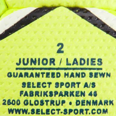 Ballon de handball Ultimate taille 2 bleu jaune blanc