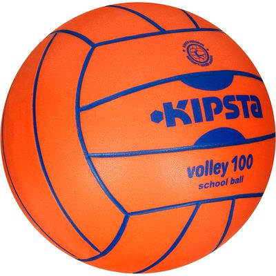 Ballon de volley-ball intérieur V100 orange
