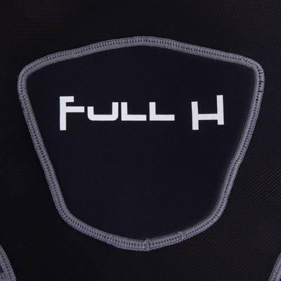 Épaulière rugby adulte Full H 500 noir gris