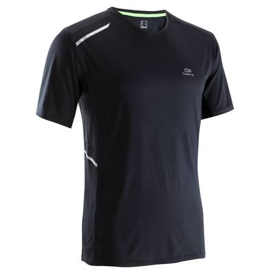 TEE SHIRT RUNNING HOMME RUN DRY+ NOIR