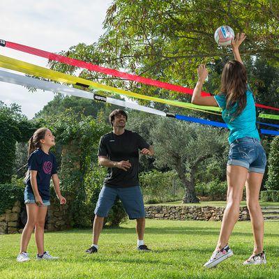 Ballon volleyball  extérieur BV 100 jaune