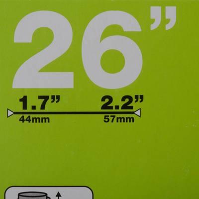 CHAMBRE A AIR 26X1,7/2,2 SCHRADER