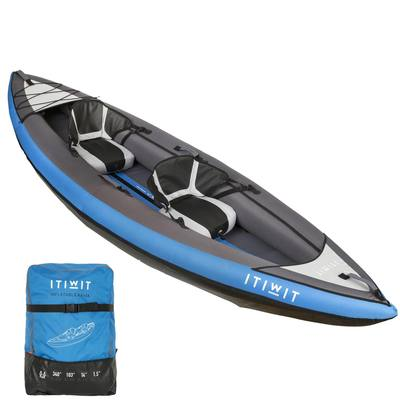 KAYAK GONFLABLE 1/2 PLACES NEW ITIWIT 2 BLEU
