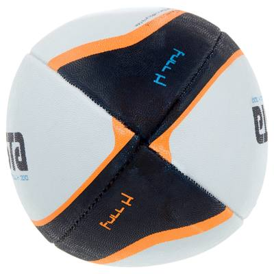 Ballon rugby Full H 300 taille 3 blanc orange