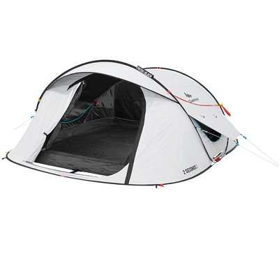 Tente de camping 2 seconds easy 3 personnes fresh&black