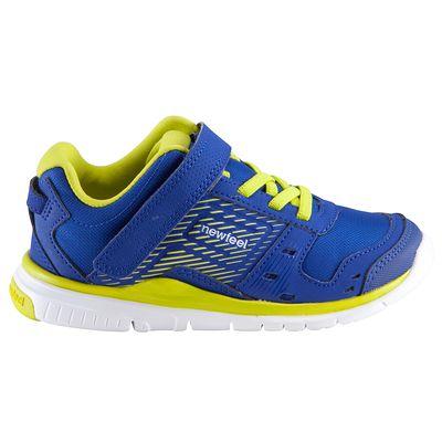 Chaussures marche sportive enfant Actireo bleu / jaune
