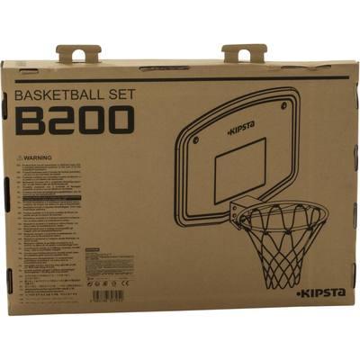 Jusquu0027; Panneau De Basket Enfant B200 EASY Bleu Orange. A Fixer Au Mur.