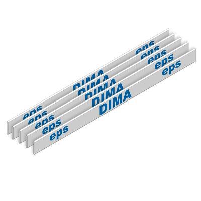 Latte athlétisme de remplacement PVC lot de 5 pour haies et mini haies
