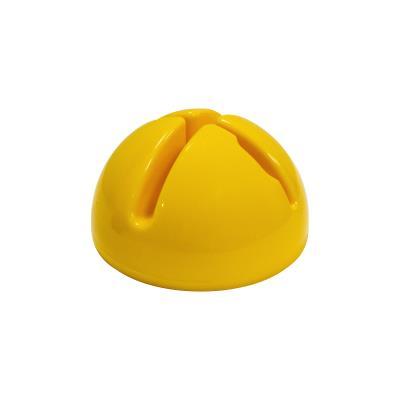 socle lestable jaune multifonctions 11 x 20 cm