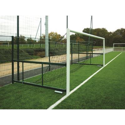 paire de buts de foot  rabattables a 8 aluminium mats intégrés