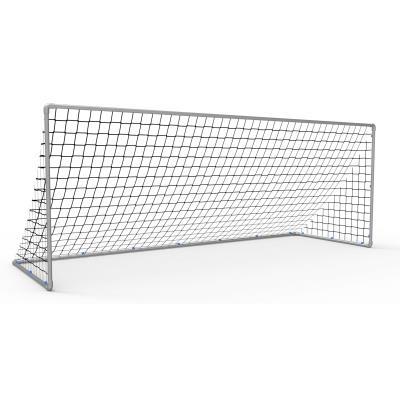 paire de buts de football transportables alu entrainement (4mx1,50m)