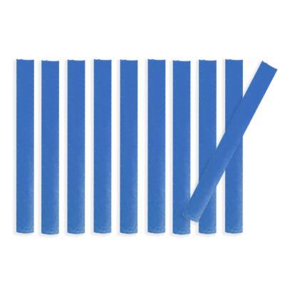 Lot de 10 bandes de marquage au sol PVC bleu