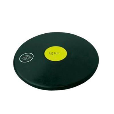 disque de lancer athlétisme en caoutchouc 1,5kg