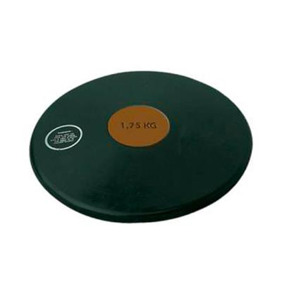 disque de lancer athlétisme en caoutchouc 1,75 kg