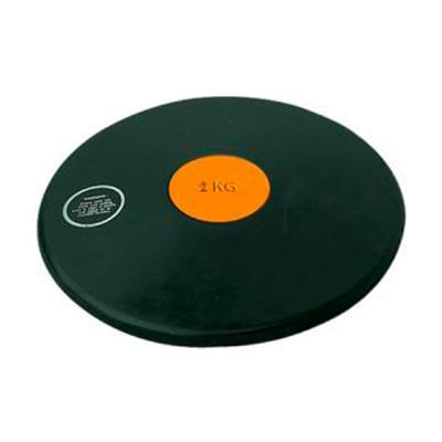disque de lancer athlétisme en caoutchouc 2kg