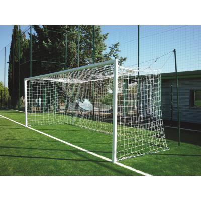 paire de buts de football a sceller aluminium rond a 8
