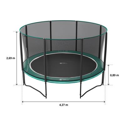 pack trampoline boost up 430 cm
