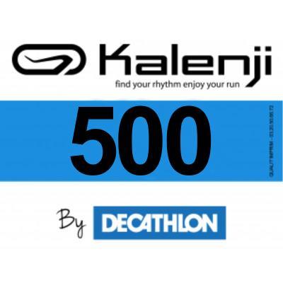 Dossards course à pied kalenji bleu 1-500