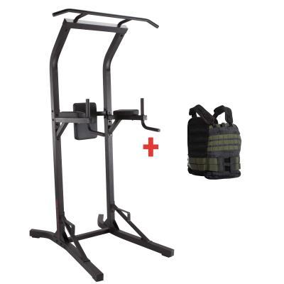 Kit chaise romaine et gilet lesté 50 kilos