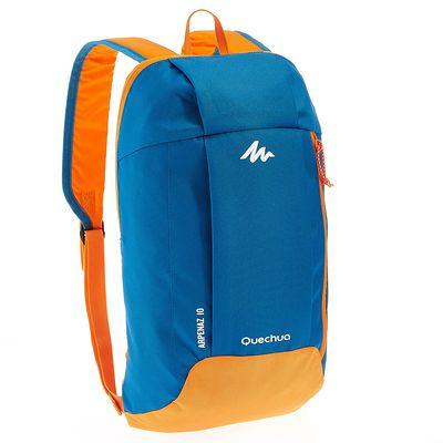 sac à dos de randonnée pour la journée Arpenaz 10L bleu/orange