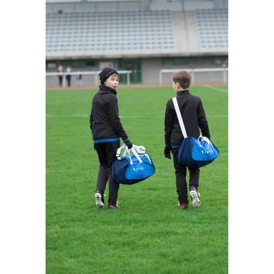 f18f150a484a7 PANTALON D ENTRAINEMENT DE FOOTBALL ENFANT T100 NOIR Clubs ...