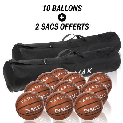 lot 10 ballons de basket taille 7 BT900 .