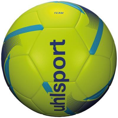 ballon de foot jaune uhlsport entrainement team taille 4
