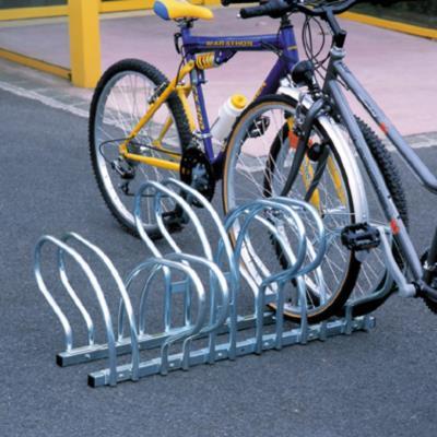 Rack 6 vélos au sol face à face