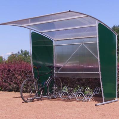 abri vélos modulable - élément initial