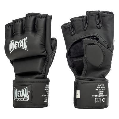 GANTS MMA METAL BOXE NOIRS