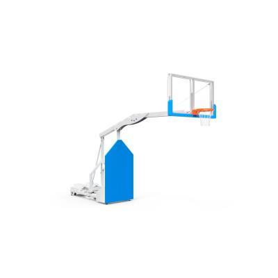 But de basket de compétition mobile, déport de 2, 25m à tête fixe avec panneau 1800x1050