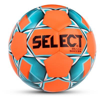 ballon beach soccer select orange/bleu