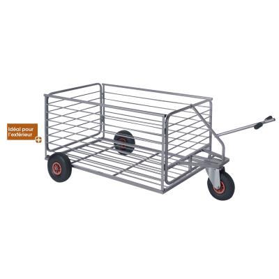 chariot à roulettes de rangement et transport ballons
