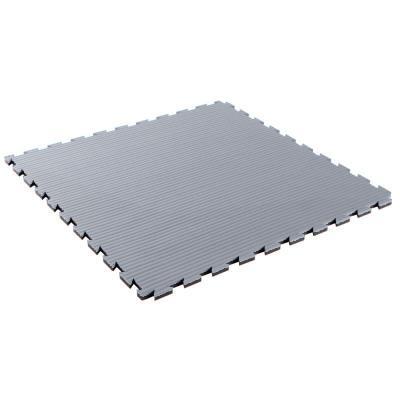 Tapis de sol pour karaté 22 mm épaisseur gris / noir