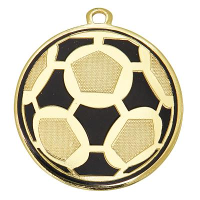medaille 50mm or football