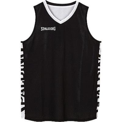 maillot de basket réversible adulte noir blanc
