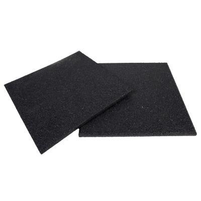 lot de 20 dalles de protection sol fitness 1000x1000x15 mm