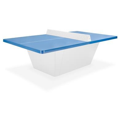 table de tennis de table square bleue avec filet securi
