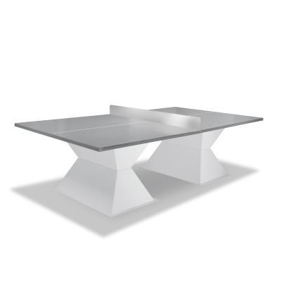 table de tennis de table outdoor diabolo éco grise