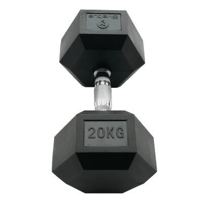HALTERE HEXAGONALE SVELTUS 20 KG