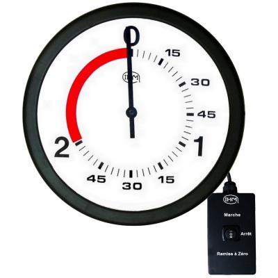 horloge boxe française 2 1 mn – ø 300mm – filaire
